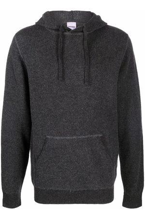 Aspesi Drawstring wool hoodie - Grey