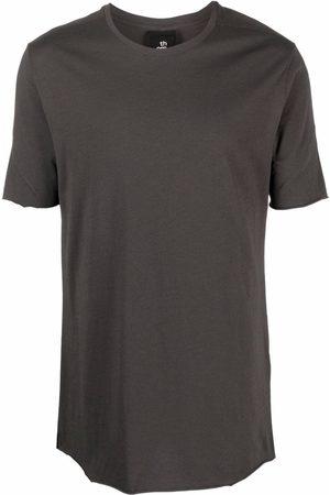 THOM KROM Round neck short-sleeved T-shirt