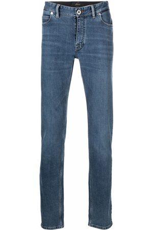 Brioni Mid-rise skinny jeans