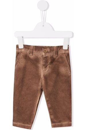 DONDUP KIDS Straight - Faded-effect straight-leg jeans