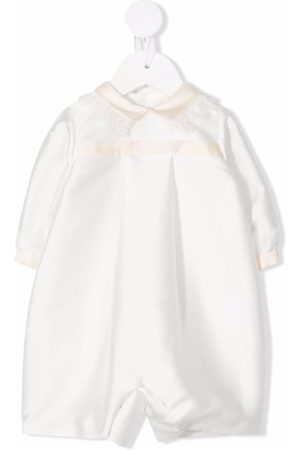 LA STUPENDERIA Baby Rompers - Two-tone long-sleeved romper