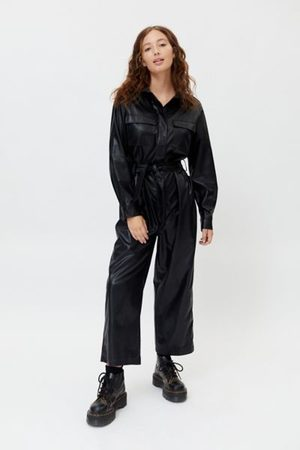 Third Form Women Jumpsuits - Faux Leather Jumpsuit