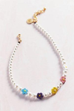 Venessa Arizaga Women Necklaces - Daisy Pearl Necklace