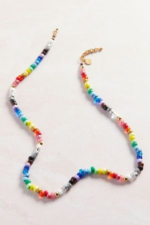 Venessa Arizaga Women Necklaces - Rainbow Lane Beaded Necklace