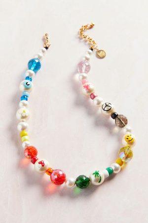 Venessa Arizaga Groovy Day Pearl Necklace