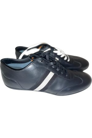 Bally Leather low trainers