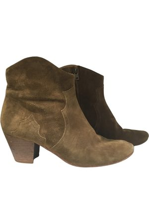 Isabel Marant Dicker western boots