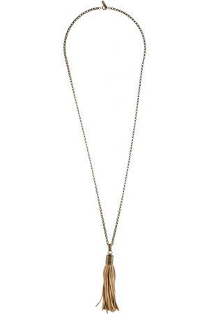 Isabel Marant Leather long necklace