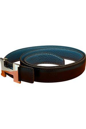 Hermès Women Belts - H leather belt