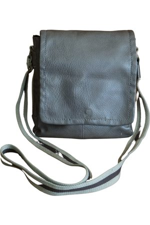 TOM TAILOR Leather weekend bag