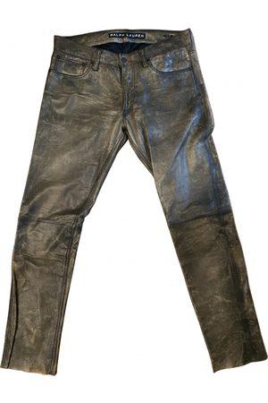 Ralph Lauren Men Leather Pants - Leather trousers