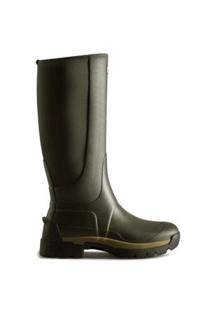 Hunter Men Rain Boots - Men's Balmoral Hybrid Tall Rain Boots
