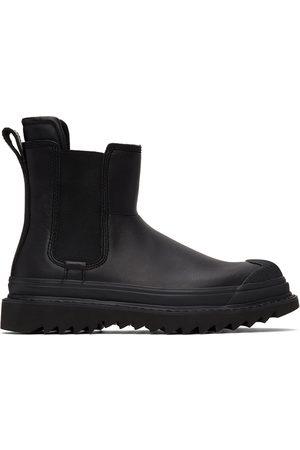 Diesel Black H-Shiroki Che Chelsea Boots