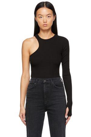 AGOLDE Organic Cotton Bea Cutaway Bodysuit
