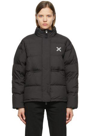 Kenzo Black Down Sport Puffer Jacket