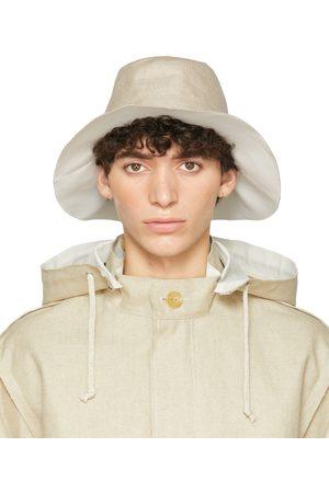 UNDERCOVER Beige Linen Hat