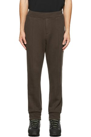 UNDERCOVER Brown Pleated Lounge Pants