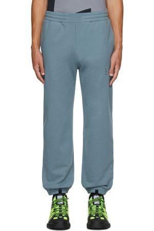 McQ Blue Jack Logo Lounge Pants