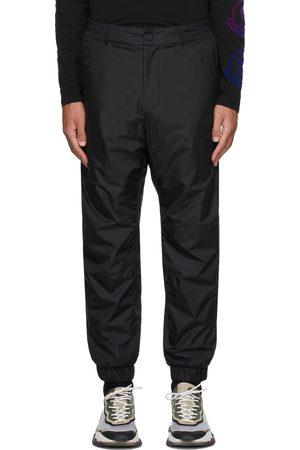 Moncler Black Nylon Sports Pants
