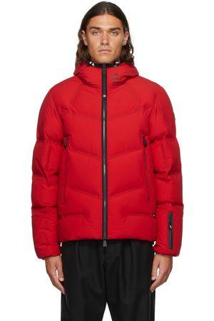 Moncler Red Down Arcesaz Jacket