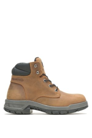 Wolverine Men Boots - Men's Ram Trucks Collection - Tradesman Safety Toe Work Boot , Size 9 Extra Wide Width