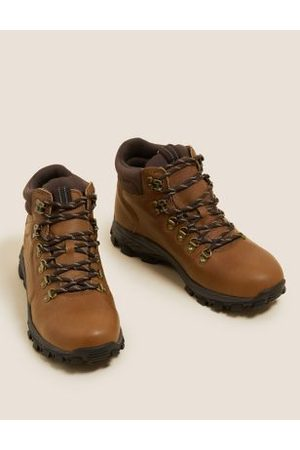 M&S Collection Leather Walking Boots