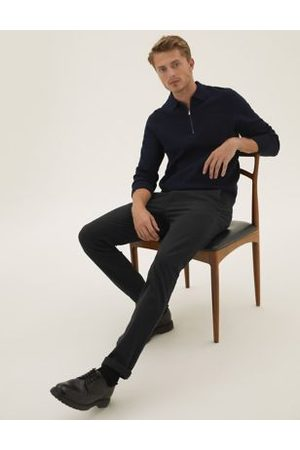 M&S Collection Slim Fit Organic Cotton Ultimate Chinos