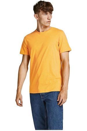 Jack & Jones Men Short Sleeve - Organic Basic Short Sleeve O-neck T-shirt XS Golden / Detail Slim