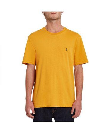 Volcom Stone Blanks Basic Short Sleeve T-shirt L Vintage Gold