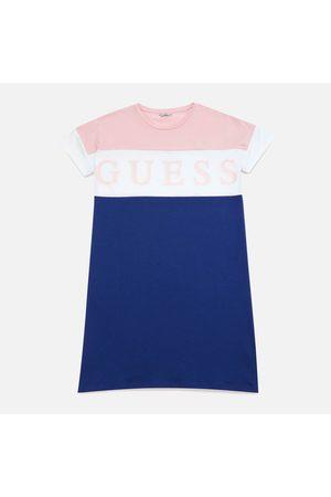 Guess Girls Dresses - Girls' 3/4 Sleeve Logo Dress