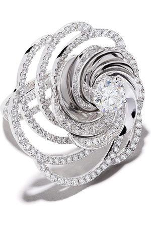 De Beers 18kt Aria diamond cocktail ring