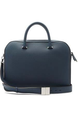 Burberry Olympia Leather Briefcase - Mens