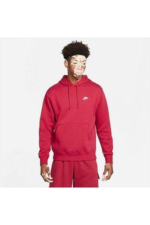 Nike Sportswear Club Fleece Embroidered Hoodie Size MT