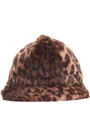 NEEDLES Faux Fur Leopard Bucket Hat