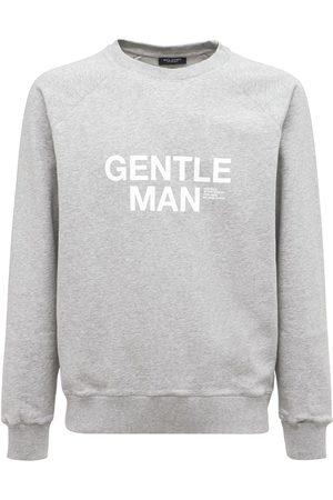 RON DORFF Gentleman Print Organic Cotton Seatshirt