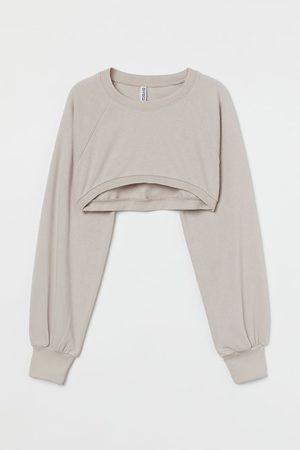 H & M Crop Sweatshirt