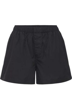 WARDROBE.NYC Cotton Poplin Boxer Shorts