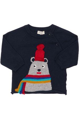 Paul Smith Intarsia Cotton & Cashmere Knit Sweater