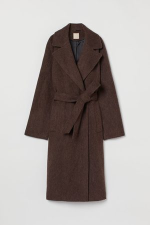 H & M Women Coats - Wool-blend Coat