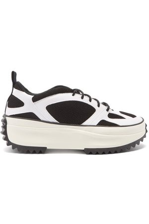 Converse Run Star Veloz Faux-leather And Mesh Trainers - Mens