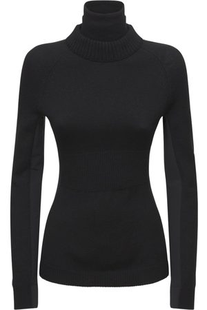 MONCLER GRENOBLE Wool Stretch Turtleneck Sweater