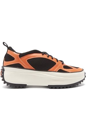 Converse Men Sneakers - Run Star Veloz Faux-leather And Mesh Trainers - Mens