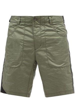 Klättermusen Ansur Cotton-ripstop Shorts - Mens - Dark