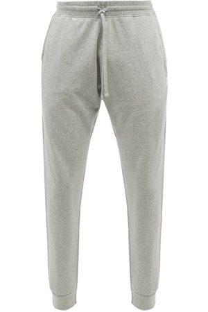 Reigning Champ Men Sweatpants - Cotton-terry Slim-leg Track Pants - Mens - Grey