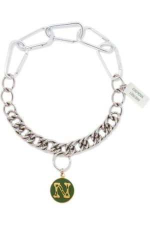 Chopova Lowena Alphabet Stainless-steel N-z Necklace - Womens - Multi