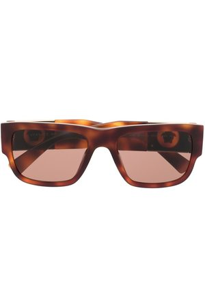 Versace Eyewear Medusa Head rectangle-frame sunglasses