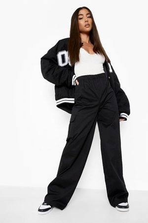 Boohoo Womens Cotton Twill Straight Leg Cargo Trouser - - 2