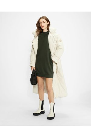 Ted Baker Mini Sweat Dress With Shoulder Detail