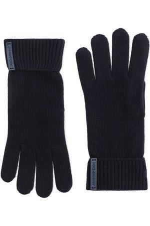 Dolce & Gabbana Men Gloves - Logo-patch gloves