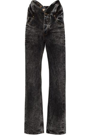 Y / PROJECT Women Boyfriend Jeans - Y PROJ KNOTTED WAIST JNS BYFRND HGH RS